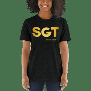 T-shirt cripto unisex do SGT